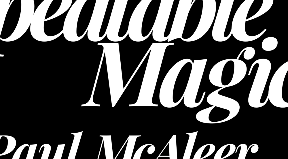 Repeatable Magic , 2016.