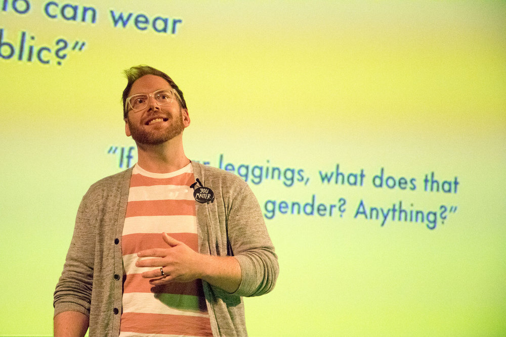On stage at Design & Content 2018!