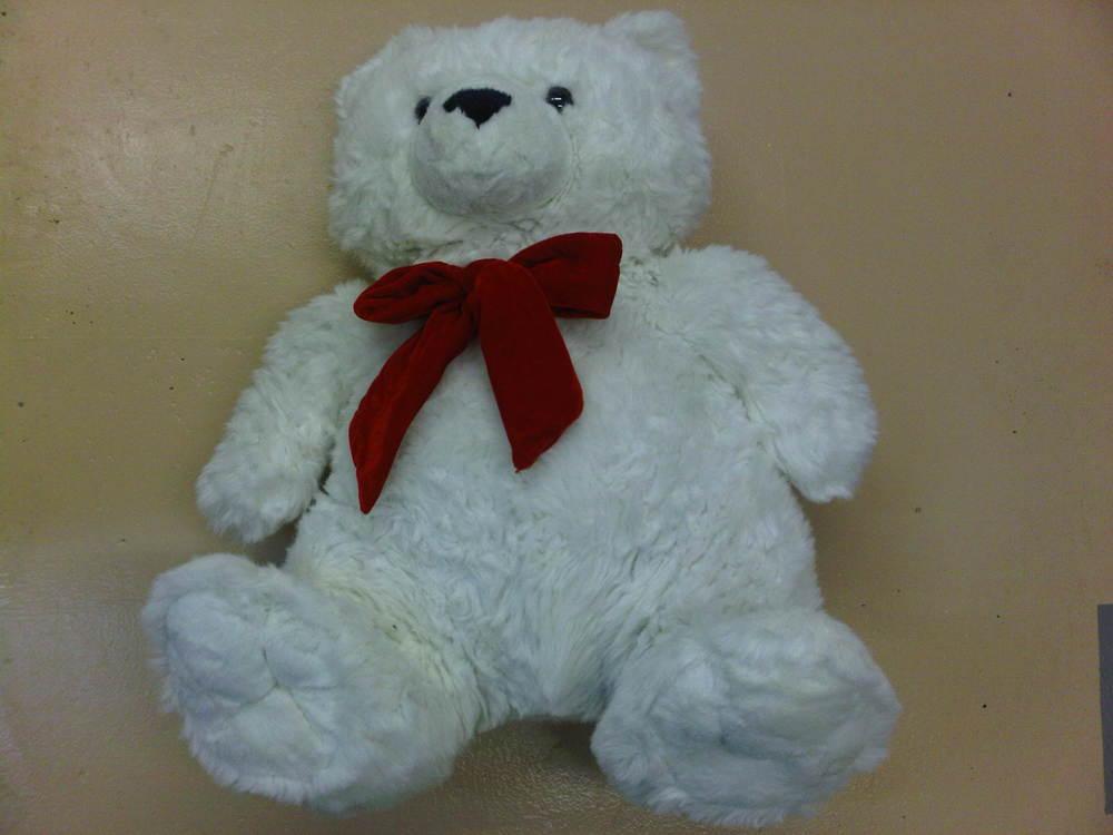 Soot Damaged Teddy Bear - After
