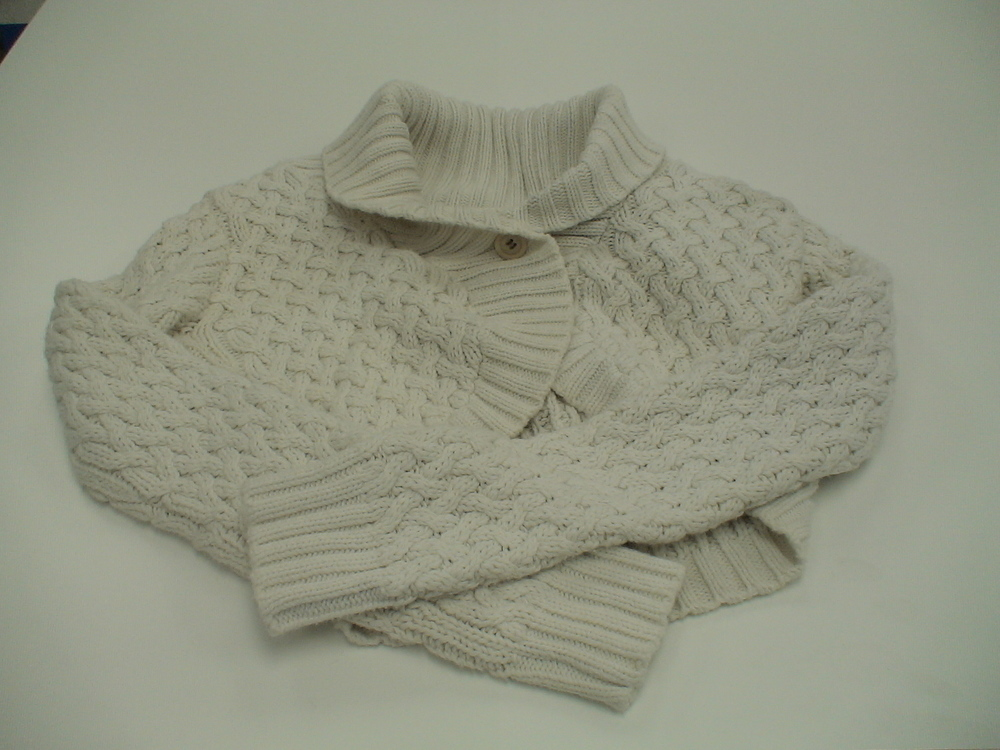 Soot Damaged Sweater - After