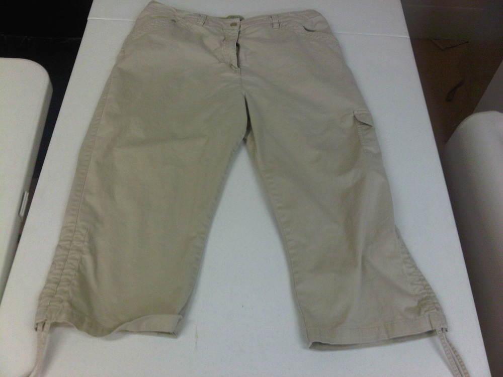Soot Damaged Khaki Pants - After