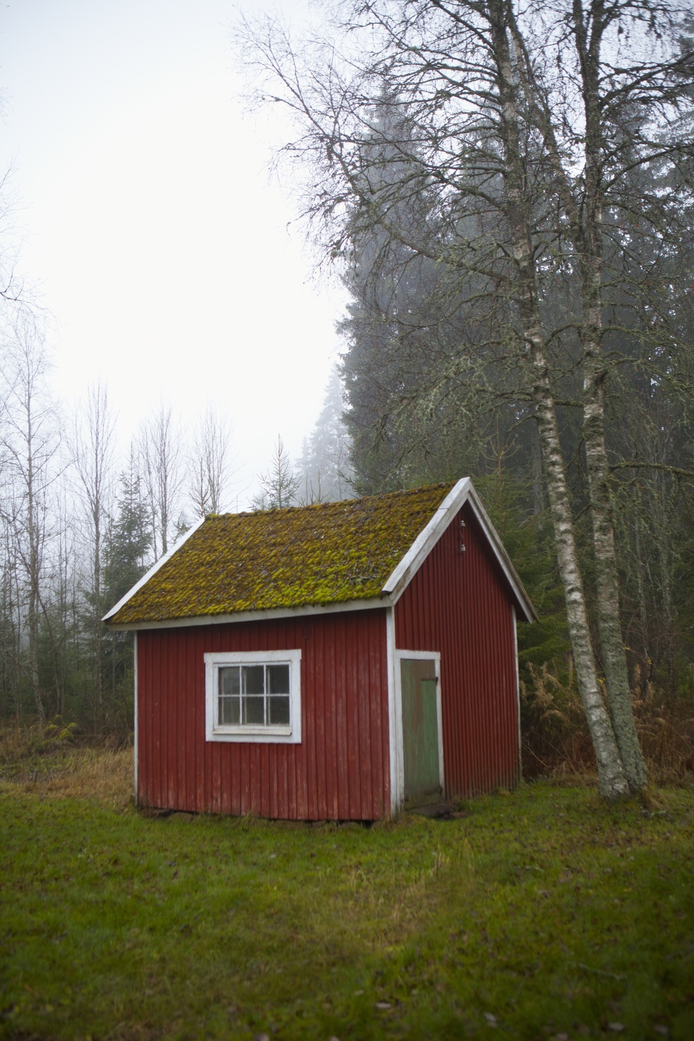 Nestled in amongst the forests and glittering lakes of Småland in Sweden, this beautifully preserved timber-built cottage was built in the late 30s. Moving here three years ago, Elisabeth loved the house for its romantic beauty and untouched charm.