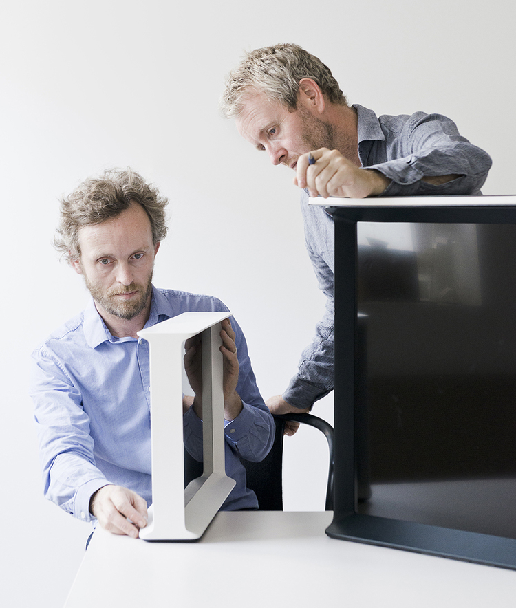 Erwan Bouroullec (left) with brother Ronan