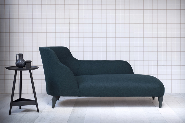 The elegant 'Leta' chaise longue is part of Pinch's new look AW15 collection