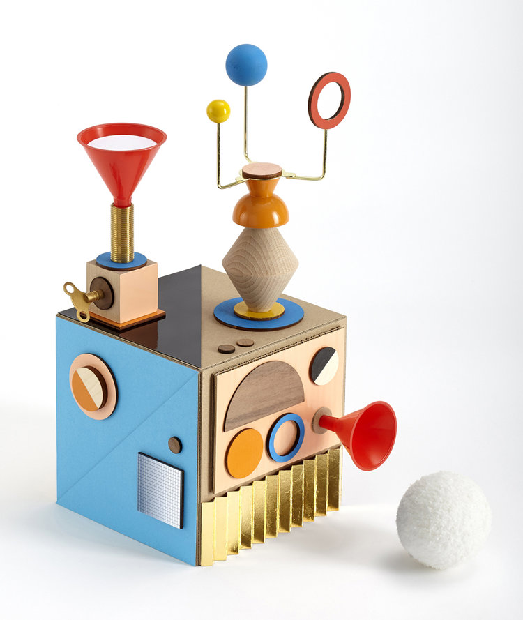 Love this colourful prototype snowball machine by Chrissie Macdonald for Block magazine, part of the 'Where Do Ideas Come From?' show