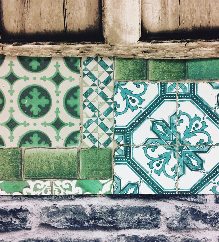 Portuguese tile wallpaper by Graham & Brown