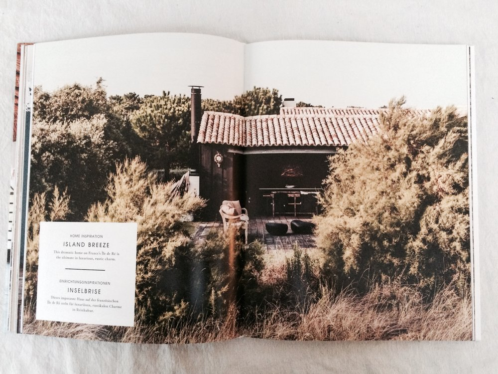The chic rustic home of fashion designer Laurence Simoncini on France's Ile de Re. Photography by Karel Balas.