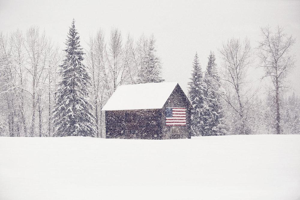Michael Scott Slosar | Montana Snowy Cabin