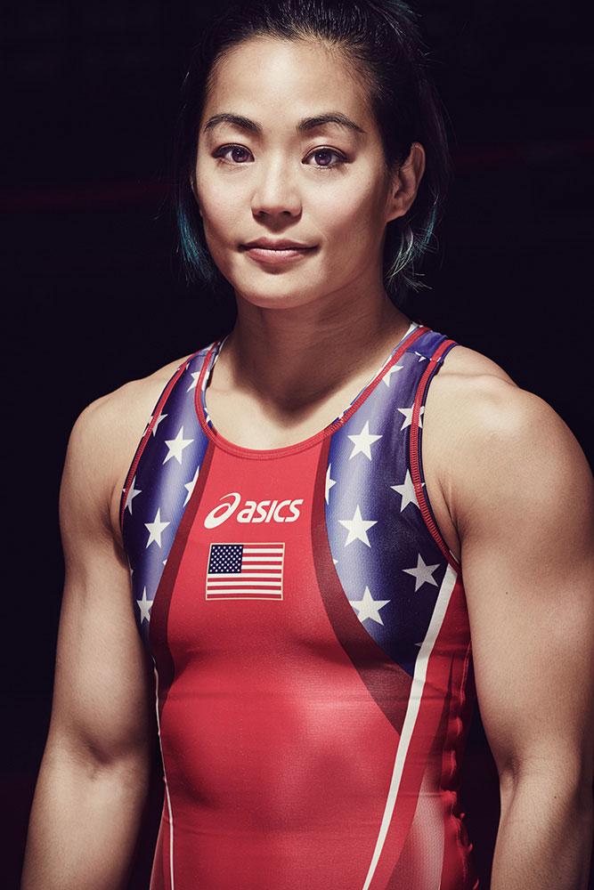 Michael Scott Slosar | Asics US Olympic Wrestling | Clarissa Chun
