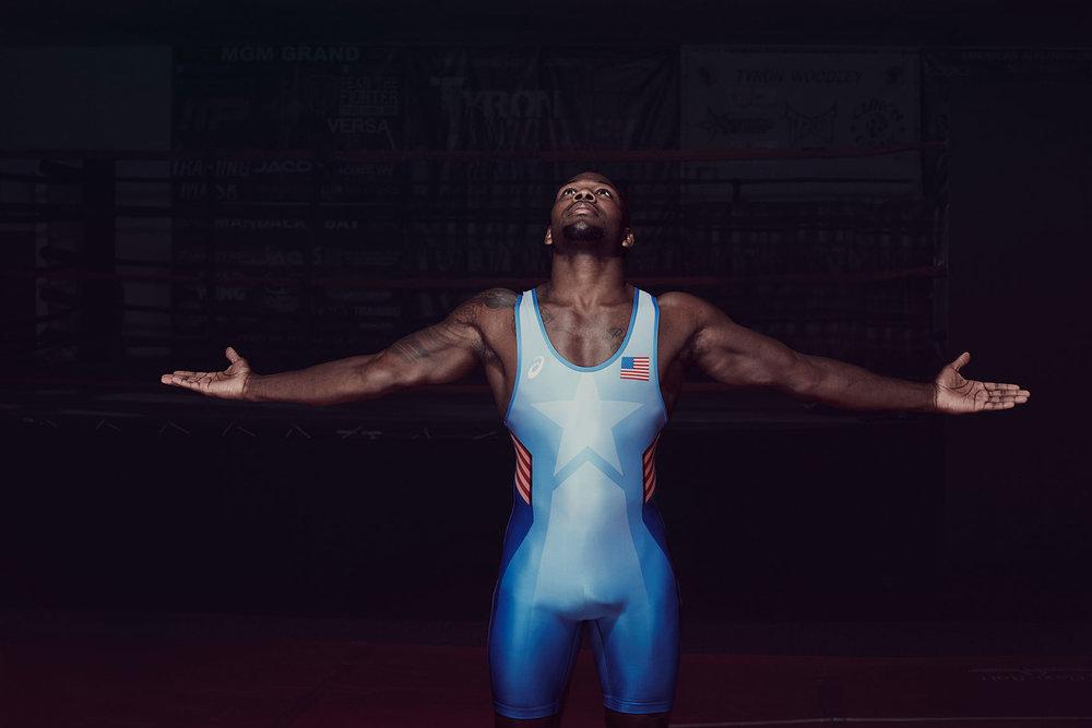 Michael Scott Slosar   Asics US Olympic Wrestling