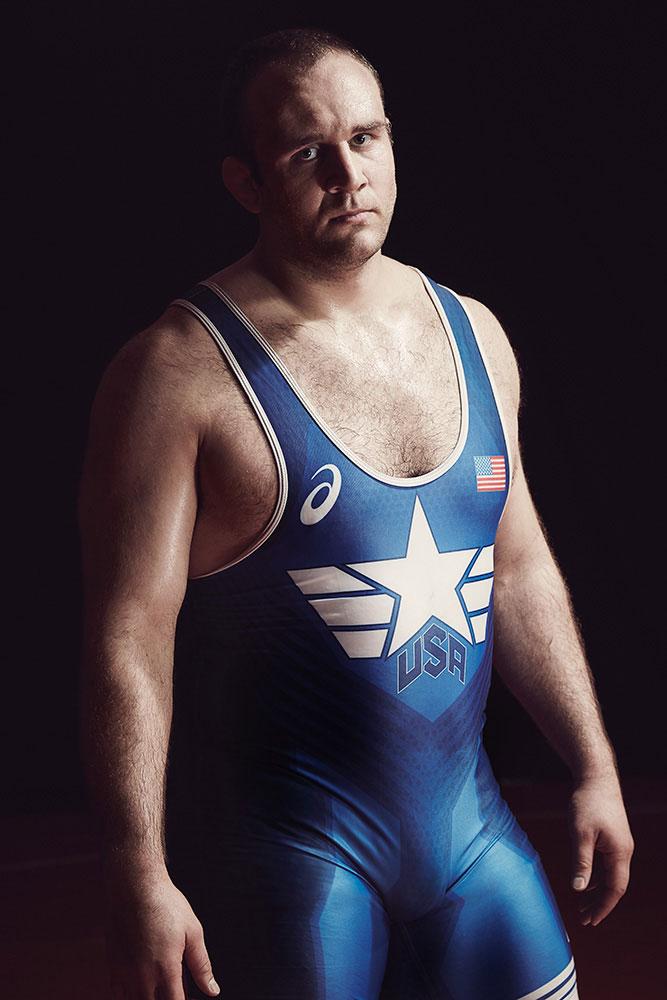 Michael Scott Slosar | Asics US Olympic Wrestling | Tervel Dlagnev