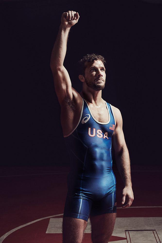 Michael Scott Slosar   Asics US Olympic Wrestling   Reece Humphrey