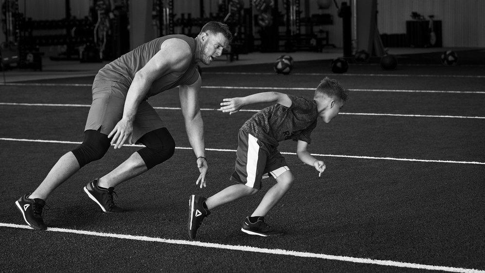 Michael Scott Slosar | Reebok Training Camp | JJ Watt