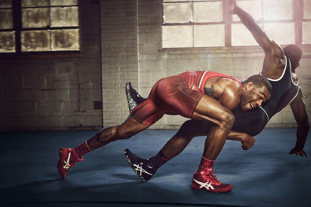 Michael Scott Slosar | Fitness Asics | Jordan Burroughs