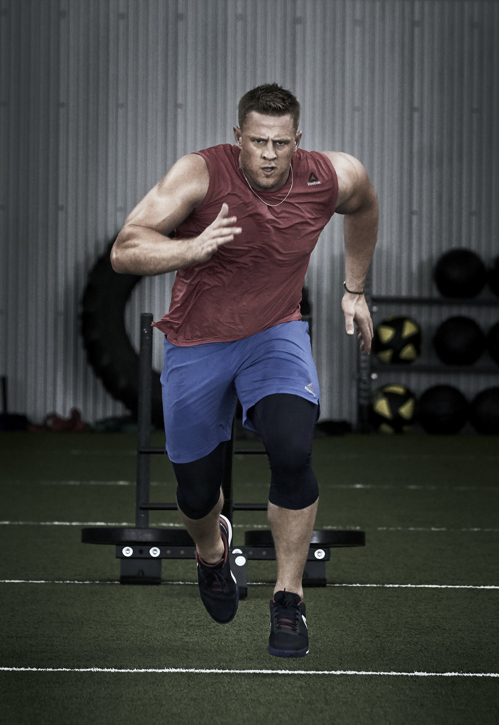 Michael Scott Slosar | Fitness Reebok | JJ Watt