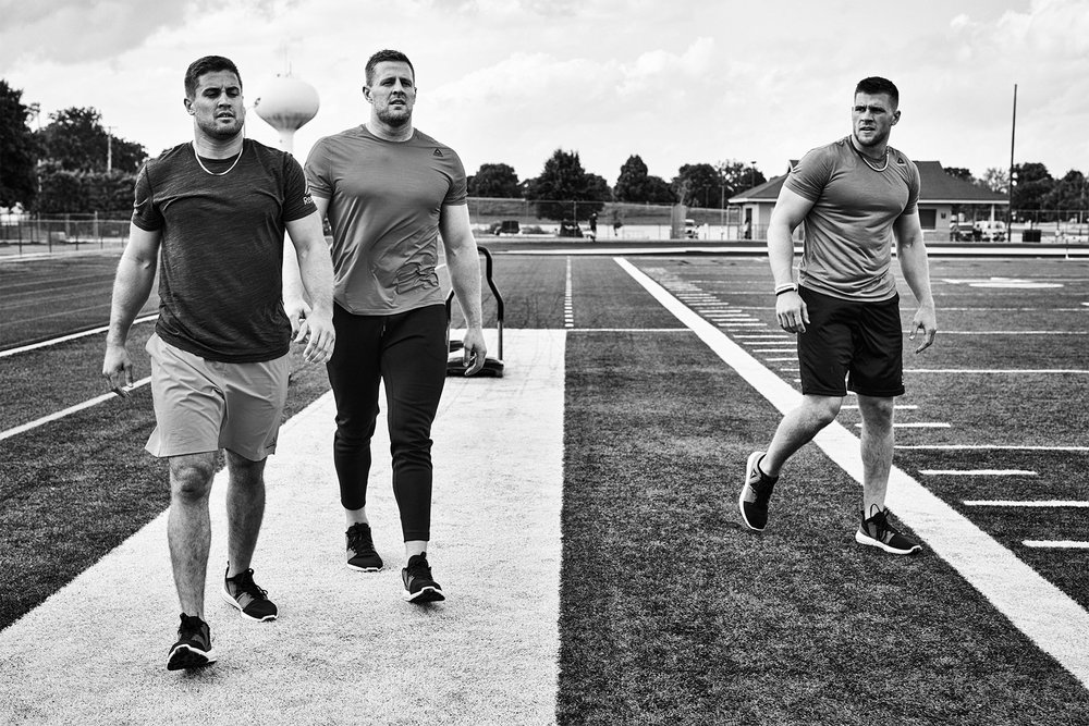 Michael Scott Slosar | Reebok Fitness | JJ Watt Brothers