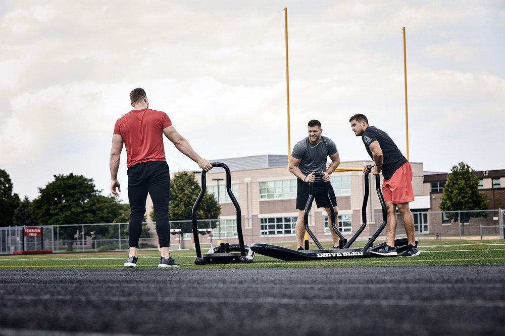 Michael Scott Slosar | Reebok Hydrorush Fitness | JJ Watt Brothers