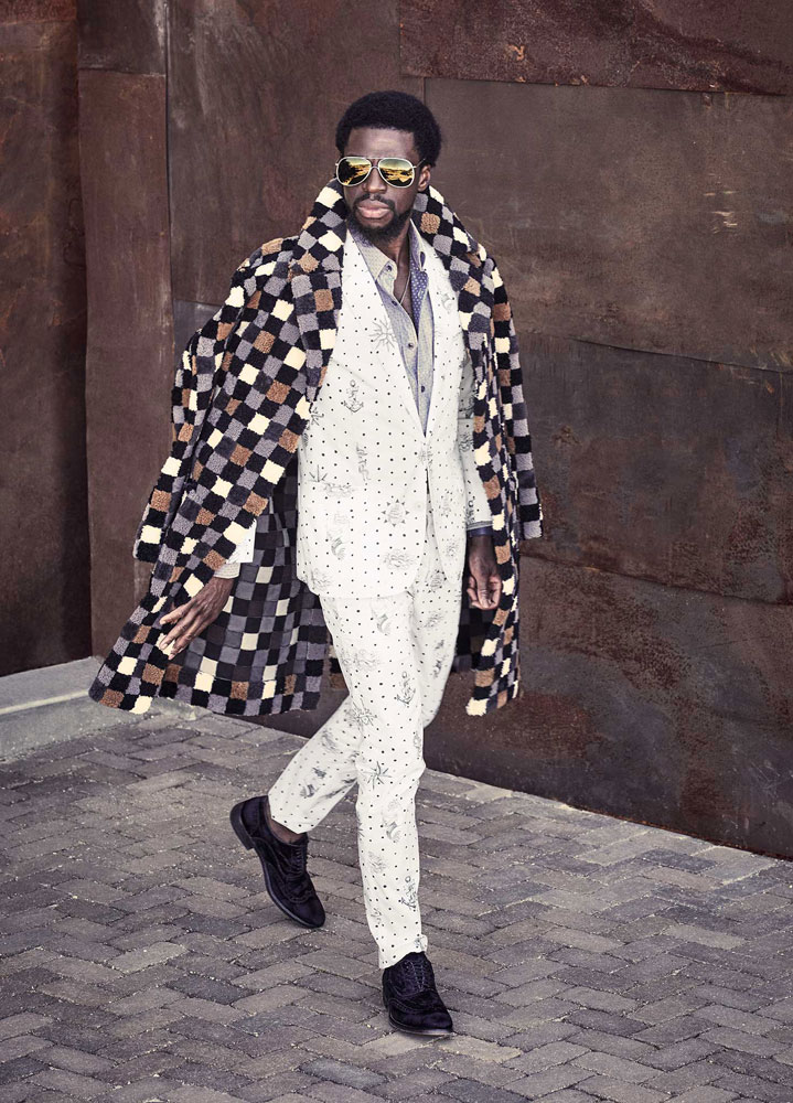 Michael Scott Slosar | Imagista Fashion Magazine | Michael Luwoye