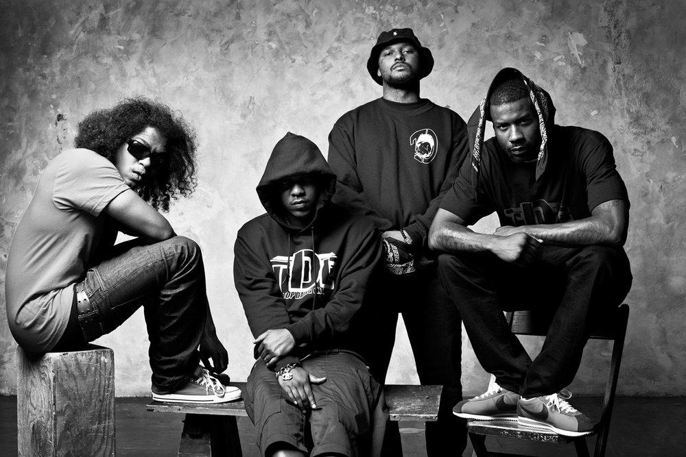 Black Hippy | Kendrick Lamar, School Boy Q, Ab-Soul, Jay Rock