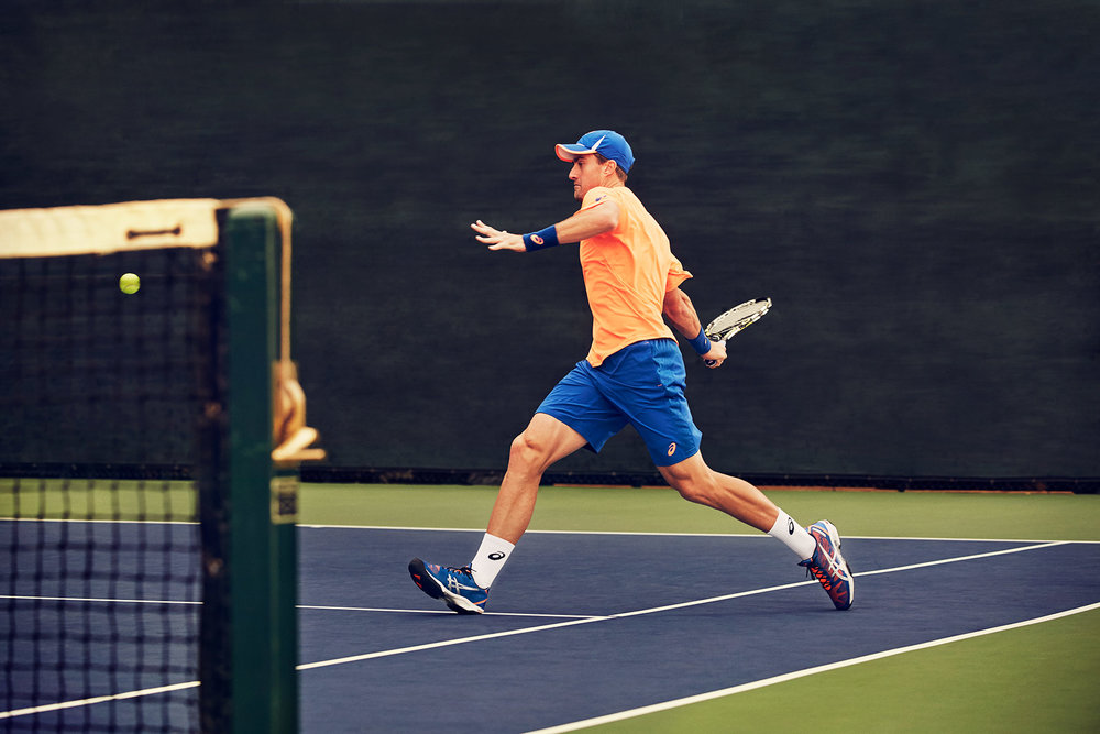 Michael Scott Slosar | Asics Tennis | James Goldstein court