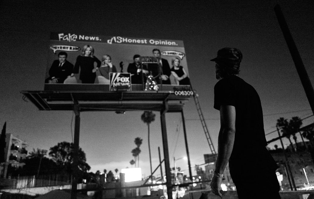 Thrashbird: Billboard Take Over   Story 007   Sunday, July 15, 2018