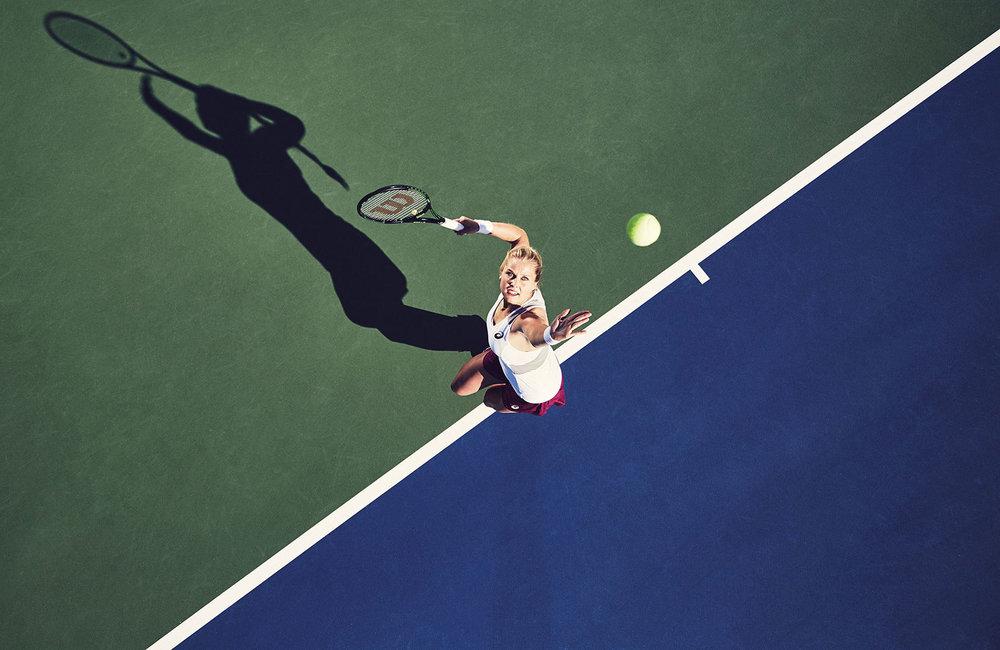 Asics Tennis | Nikola Vlasic & Shelby Rogers