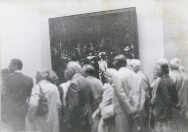 Sigmar Polke, Untitled (Die Nachtwache), 1971, Photograph, 8.3 x 11.7 in, 21.1 x 29.7 cm