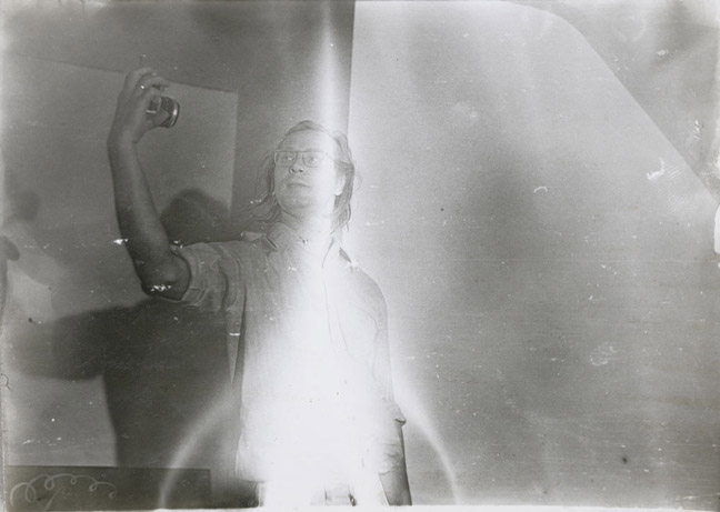 Sigmar Polke, Untitled (Self Portrait), 1969-1970, Photograph, 5 x 7 in, 12.7 x 17.8 cm