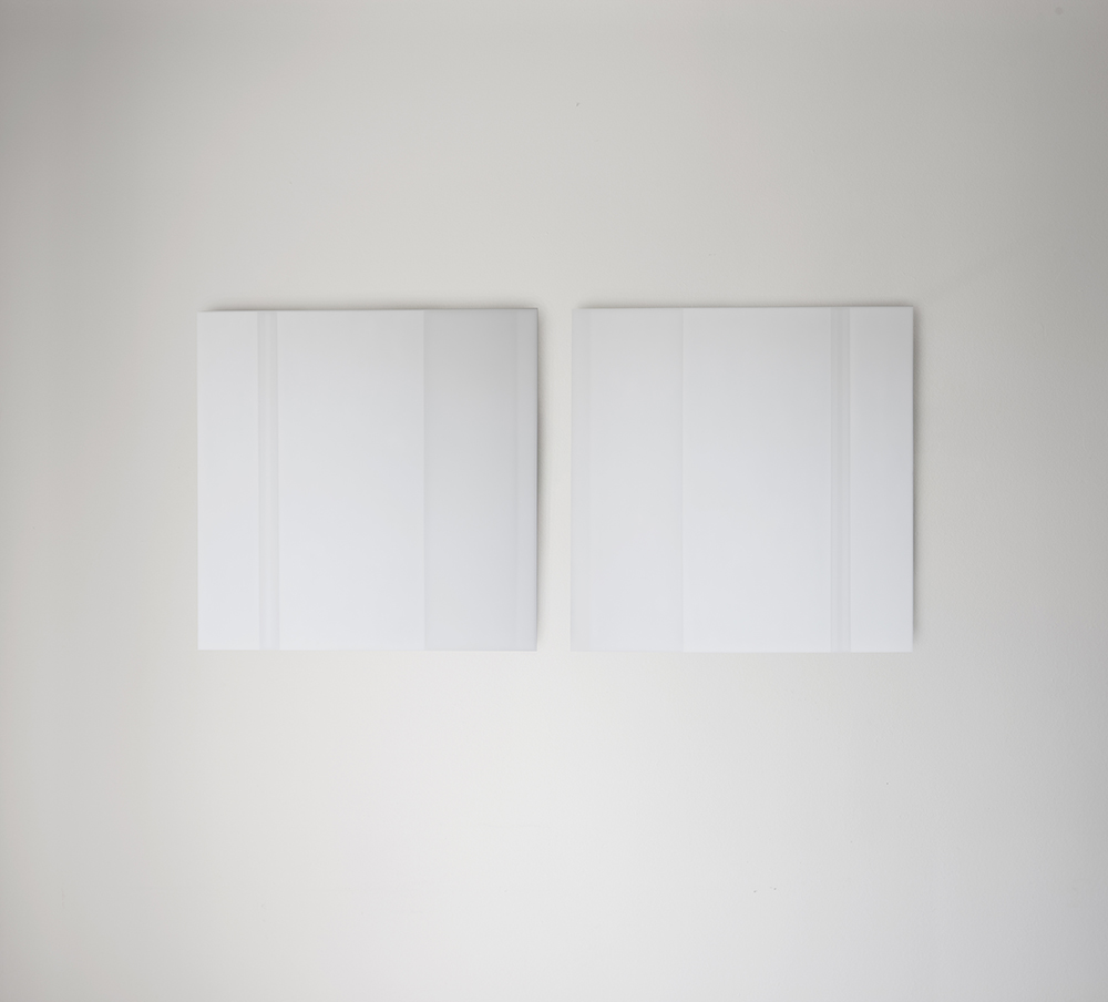 Steve Burtch, No. 12019, 2012, Acrylic graphite on acrylic panel, 32.25 x 32.25 inches