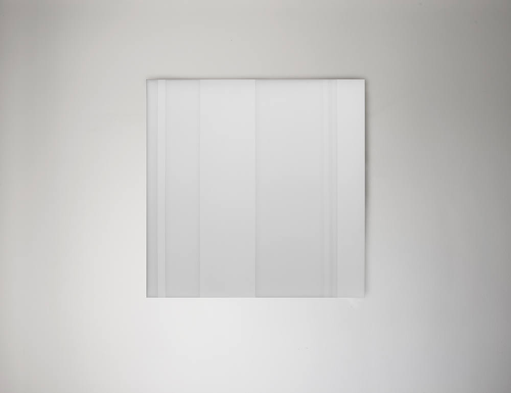 Steve Burtch No. 12022, 2012, acrylic & graphite on cast acrylic panels, 11 x 11 inches