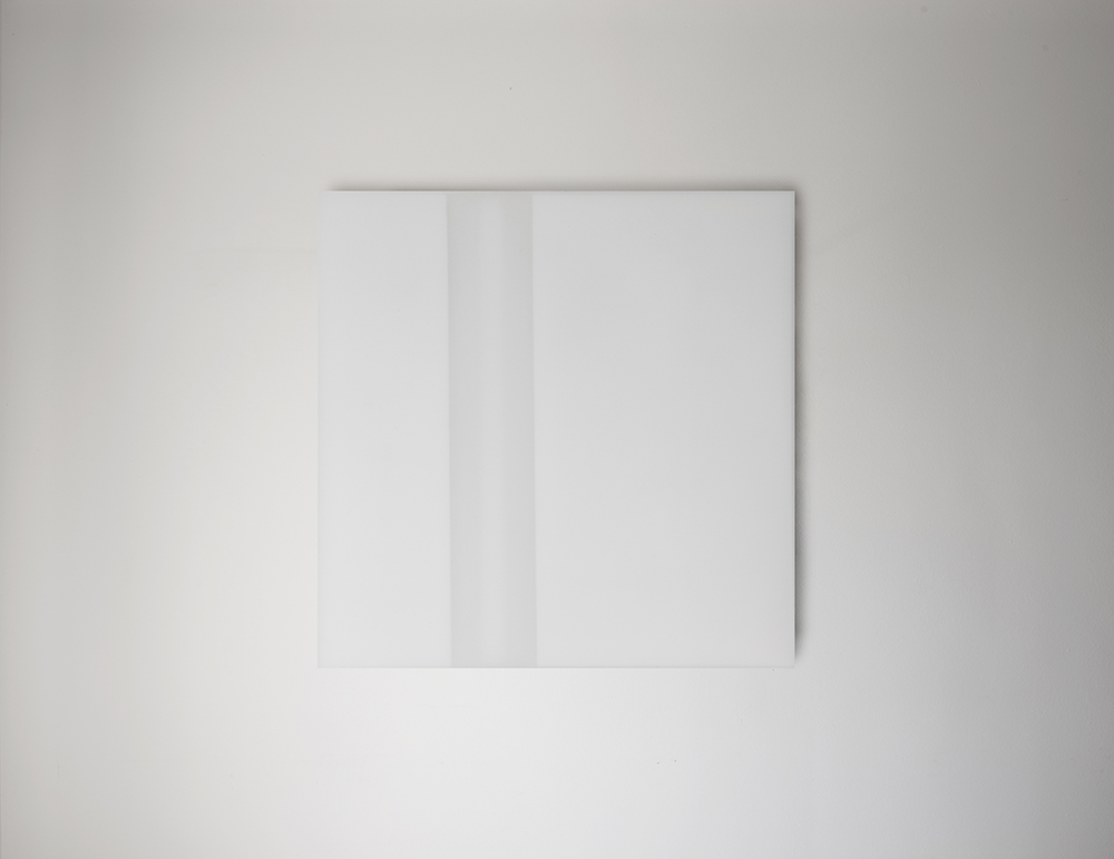 Steve Burtch, No. 12023, 2012, acrylic & graphite on cast acrylic panels, 11 x 11 inches