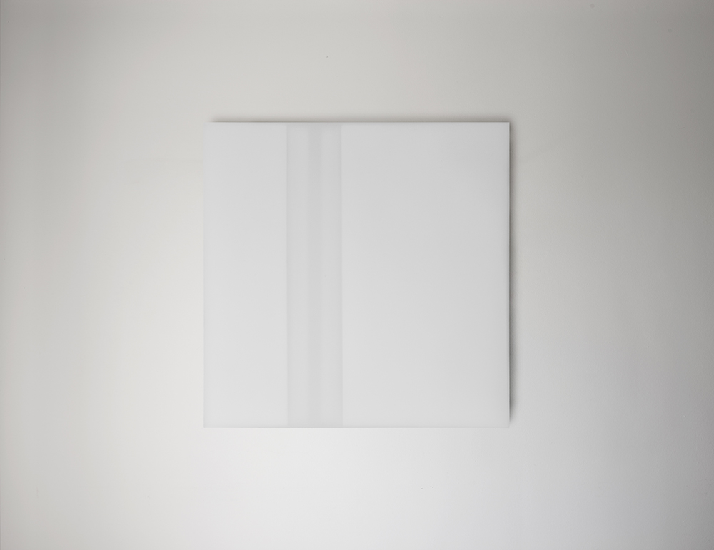 Steve Burtch, No. 12026, 2012, acrylic & graphite on cast acrylic panels, 11 x 11 inches