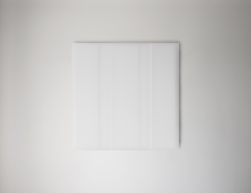 Steve Burtch No. 12027, 2012, acrylic & graphite on cast acrylic panels, 11 x 11 inches