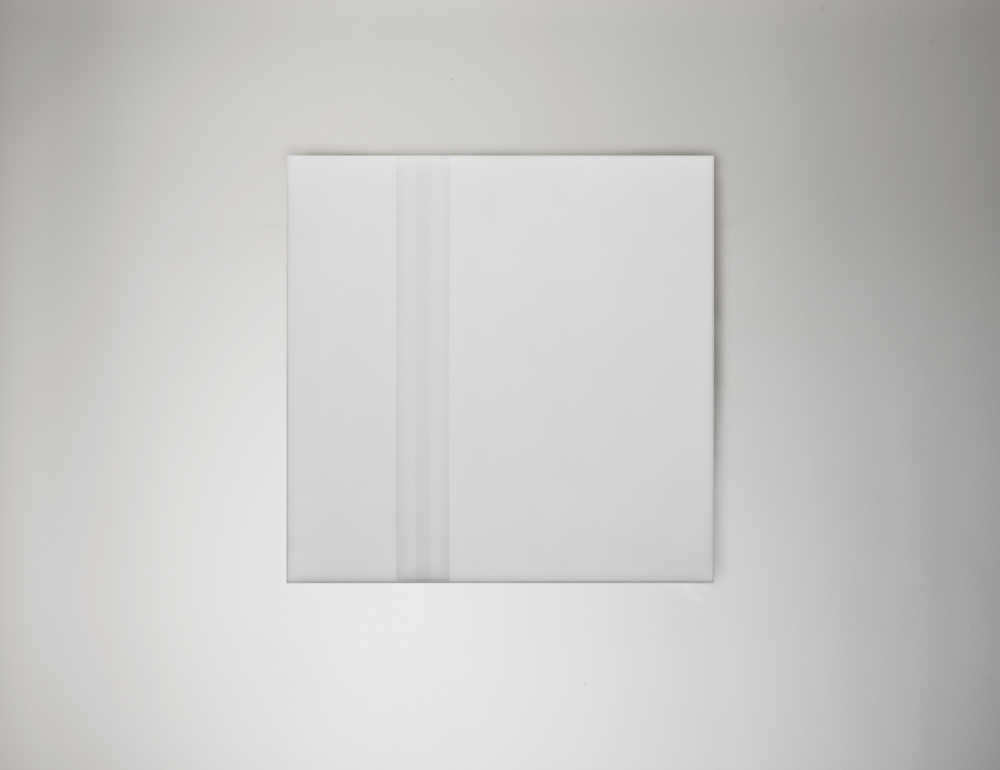 Steve Burtch, No. 12034, 2012, acrylic & graphite on cast acrylic panels, 72 x 48 inches