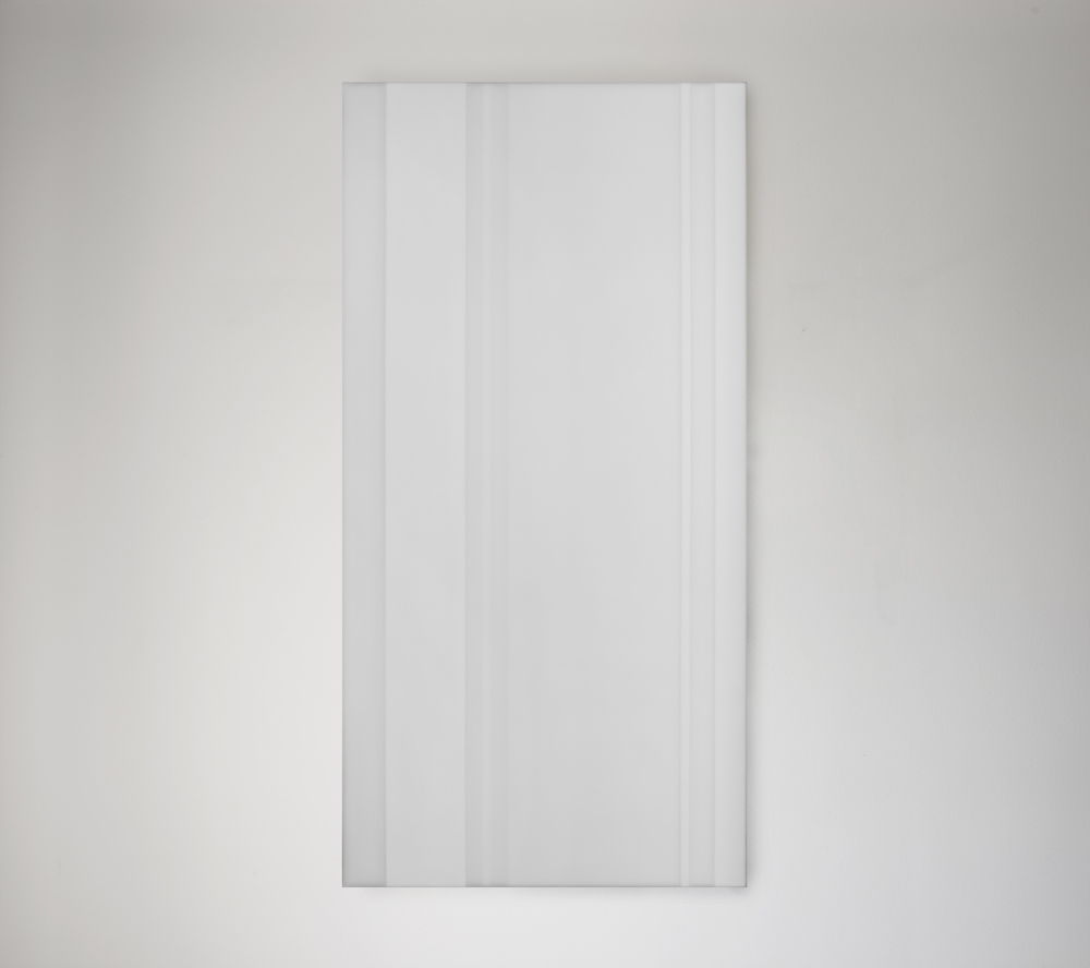 Steve Burtch, No. 12036, 2012, acrylic & graphite on cast acrylic panel, 72 x 48 inches
