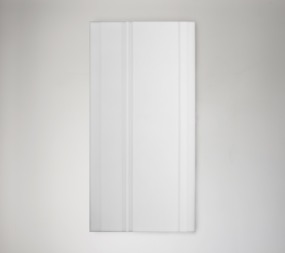Steve Burtch, No. 12040, 2012, acrylic & graphite on cast acrylic panels, 33 x 22 inches
