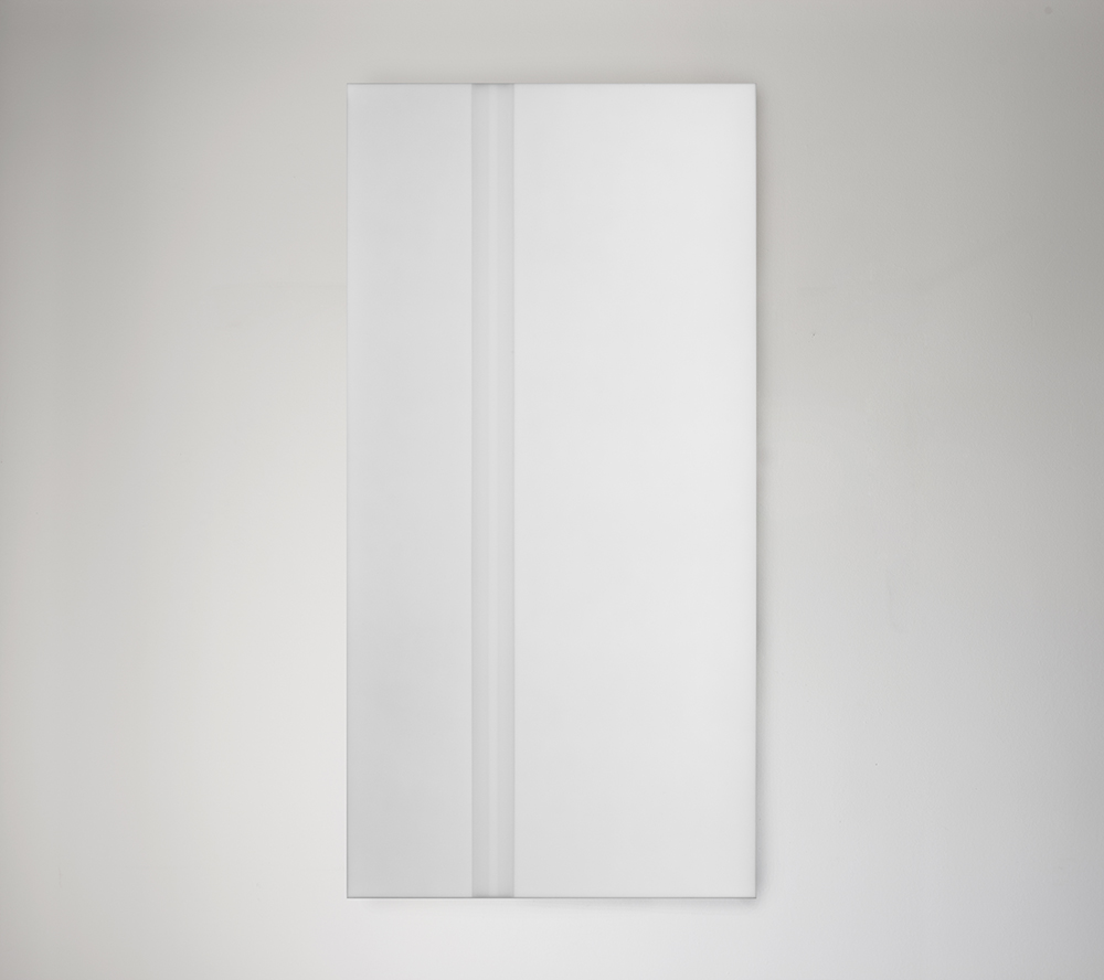 Steve Burtch, No. 12041, 2012, acrylic & graphite on cast acrylic panels, 33 x 22 inches