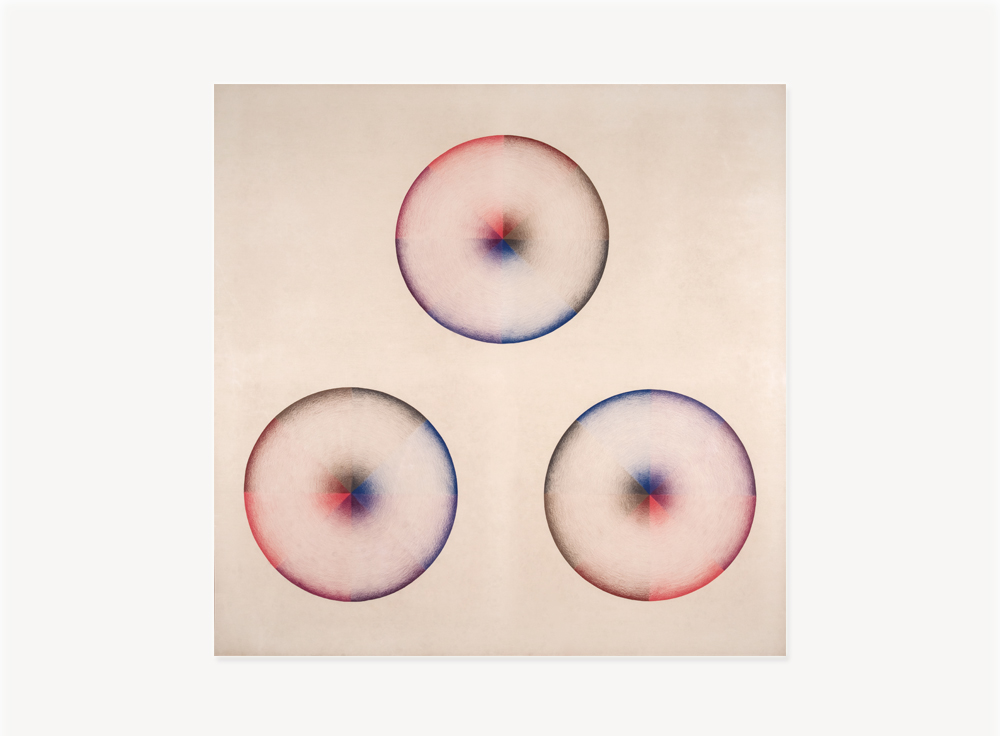 "Judy Chicago, Large Dome Drawing #3, 1968-69, Prismacolor on paper, 54 x 54 inches                                  Normal     0                     false     false     false         EN-US     JA     X-NONE                                                                                                                                                                                                                                                                                                                                                                                                                                                                                                                                                                                                                                                                                                                    /* Style Definitions */ table.MsoNormalTable 	{mso-style-name:""Table Normal""; 	mso-tstyle-rowband-size:0; 	mso-tstyle-colband-size:0; 	mso-style-noshow:yes; 	mso-style-priority:99; 	mso-style-parent:""""; 	mso-padding-alt:0in 5.4pt 0in 5.4pt; 	mso-para-margin-top:0in; 	mso-para-margin-right:0in; 	mso-para-margin-bottom:10.0pt; 	mso-para-margin-left:0in; 	mso-pagination:widow-orphan; 	font-size:12.0pt; 	font-family:Cambria; 	mso-ascii-font-family:Cambria; 	mso-ascii-theme-font:minor-latin; 	mso-hansi-font-family:Cambria; 	mso-hansi-theme-font:minor-latin; 	mso-fareast-language:JA;}"
