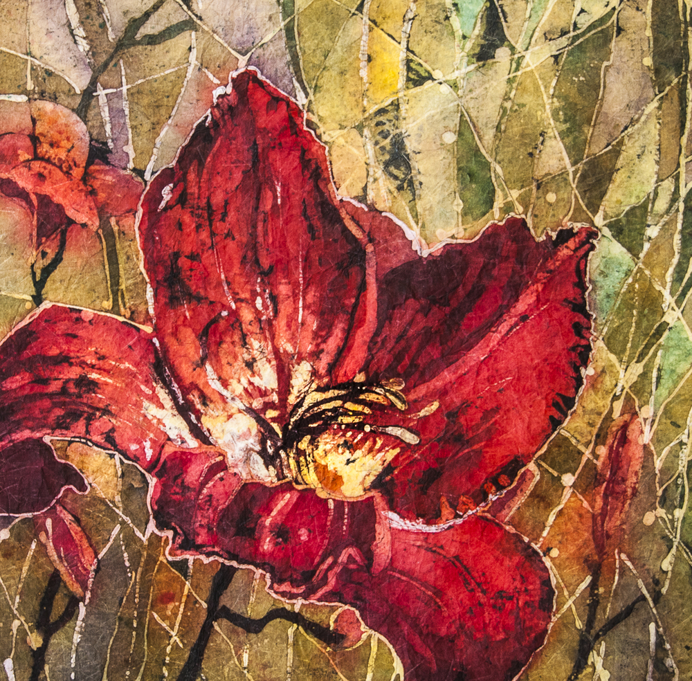 Red Daylily (sold)