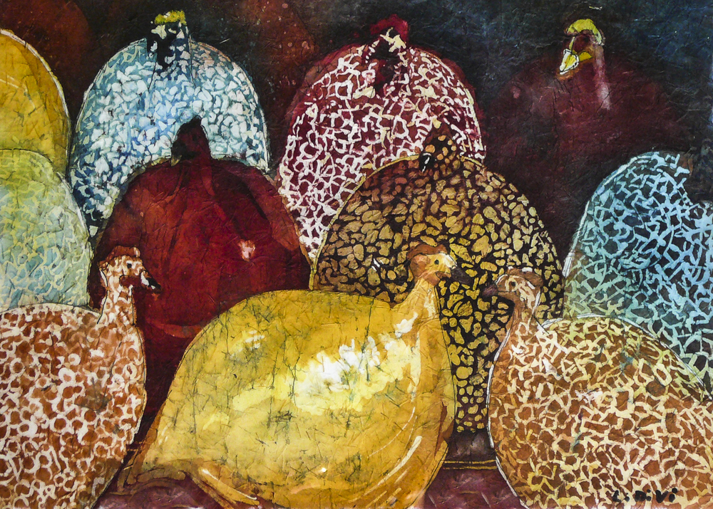 Nine French Hens (sold)