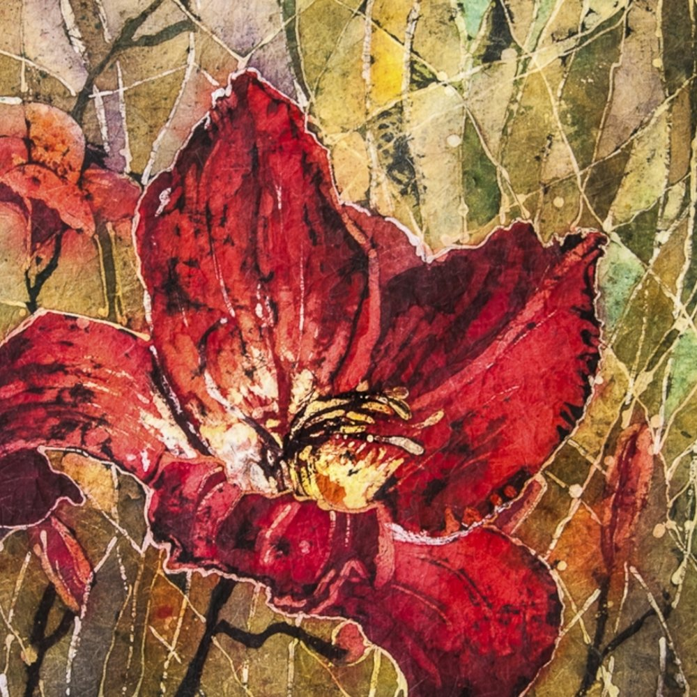 Watercolour Batik