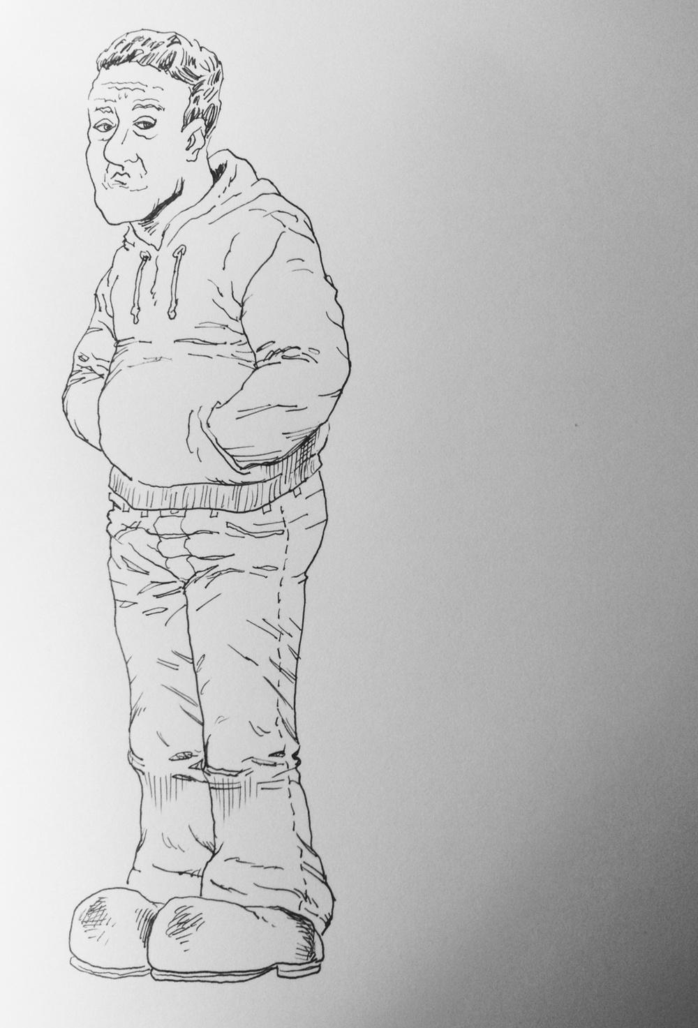 PlatinumCarbonFoutainPen-Sketch
