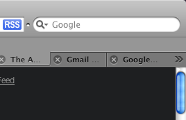 Safari Tab Spillover Arrows