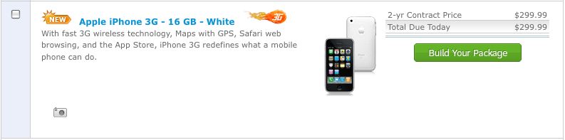 AT&T: Online iPhone Purchase