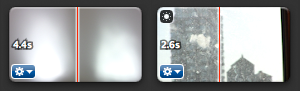 iMovie 8: 2 and 4 Second Clips