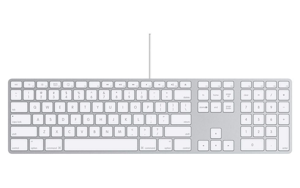 Apple Aluminum Keyboard: Shocking!