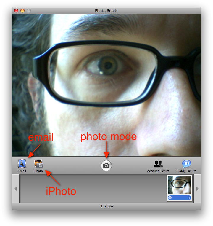 PhotoBooth: View Mode