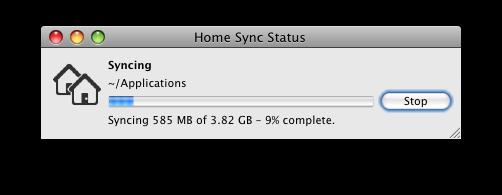 Home Sync Status