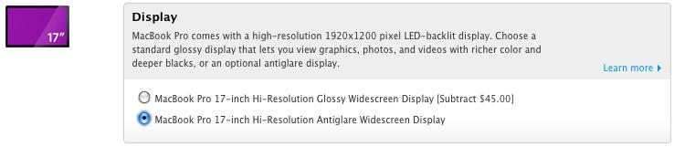 MBP Screen Options