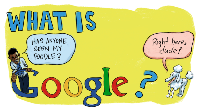 InfoComic:  What Is Google?  Client: Fusion Network